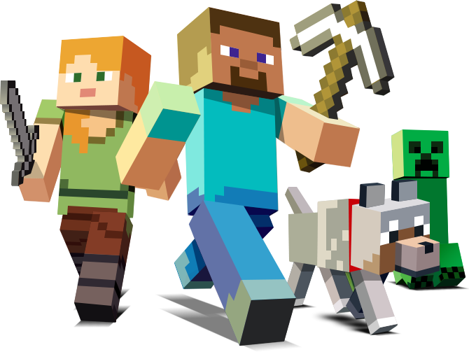 Download Free png Minecraft PNG, Download PNG image with.