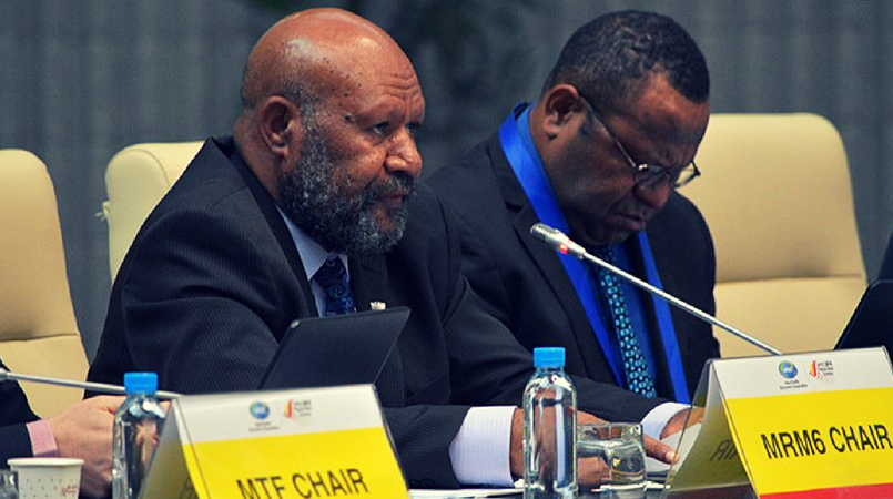 PNG mining minister applauded.