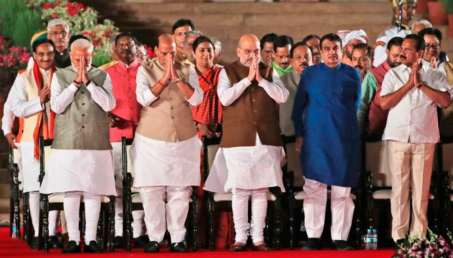 Cabinet Ministers of Modi Government: Here\'s the full list.