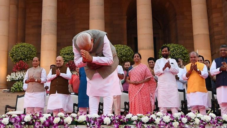 Narendra Modi Cabinet 2.0: Full list of Union ministers.