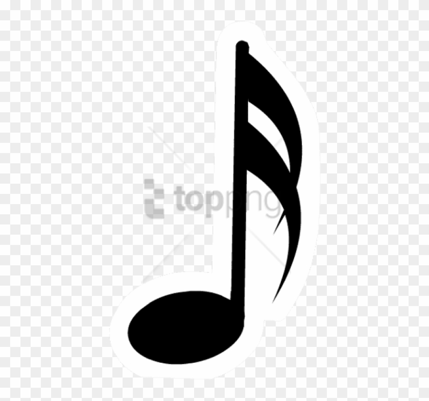 Free Png Music Note Silhouette Png Png Image With.