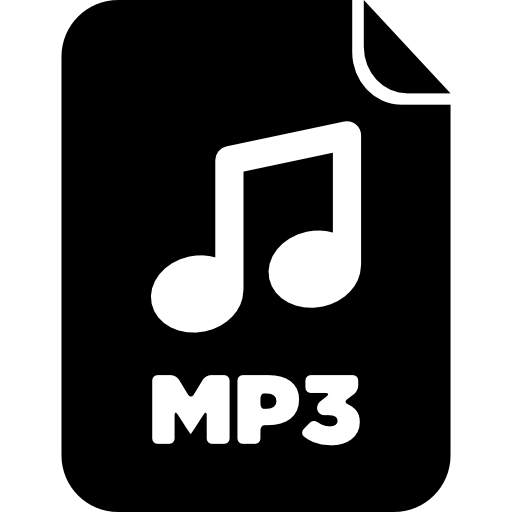 Mp3 audio file Icons.