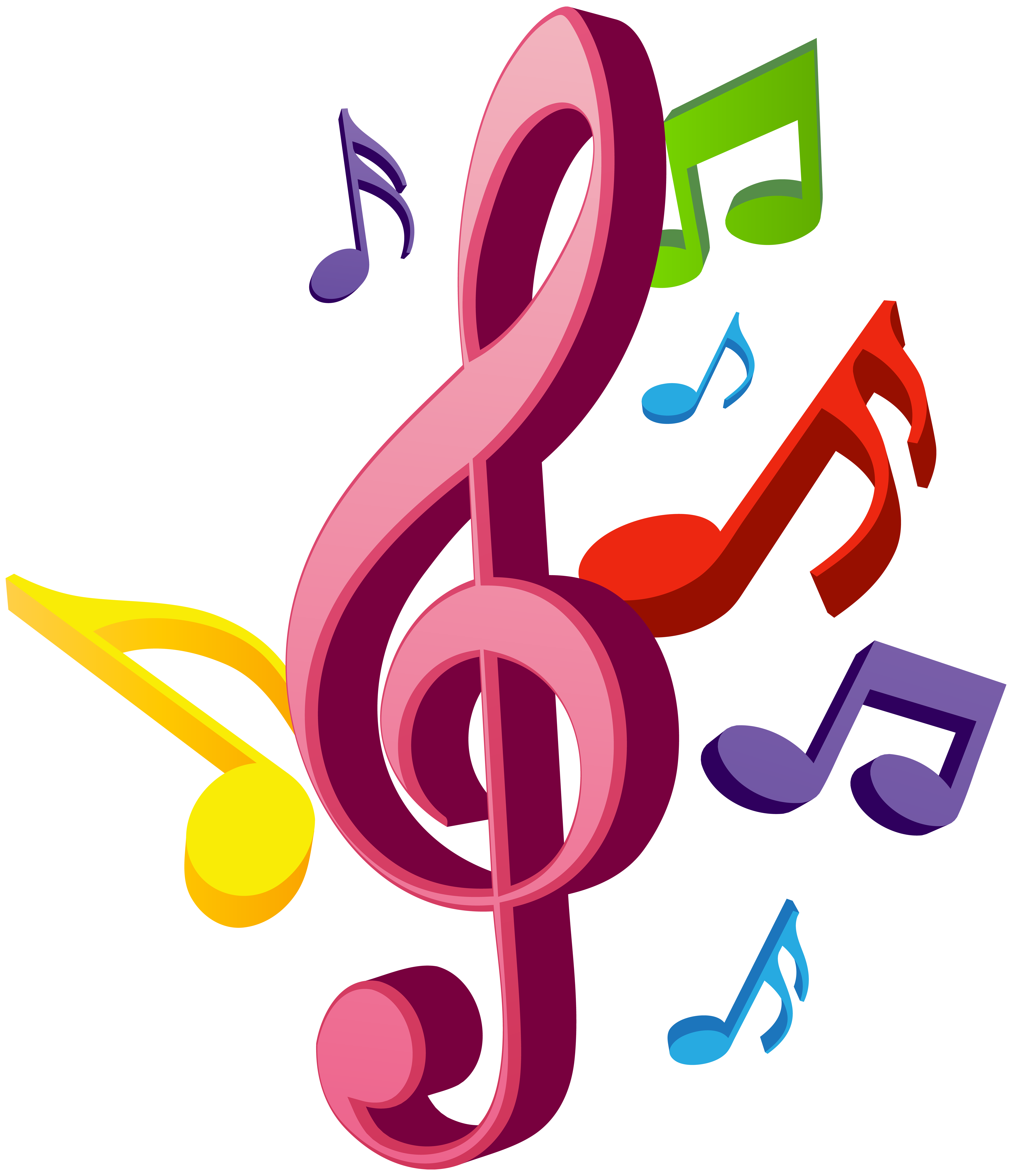 Music Notes PNG Clip Art.