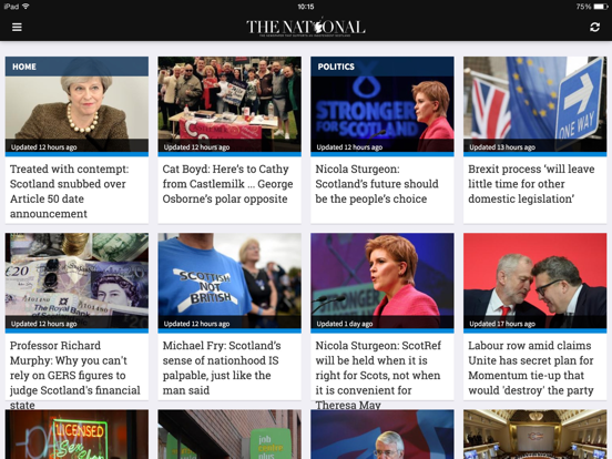 The National news app.