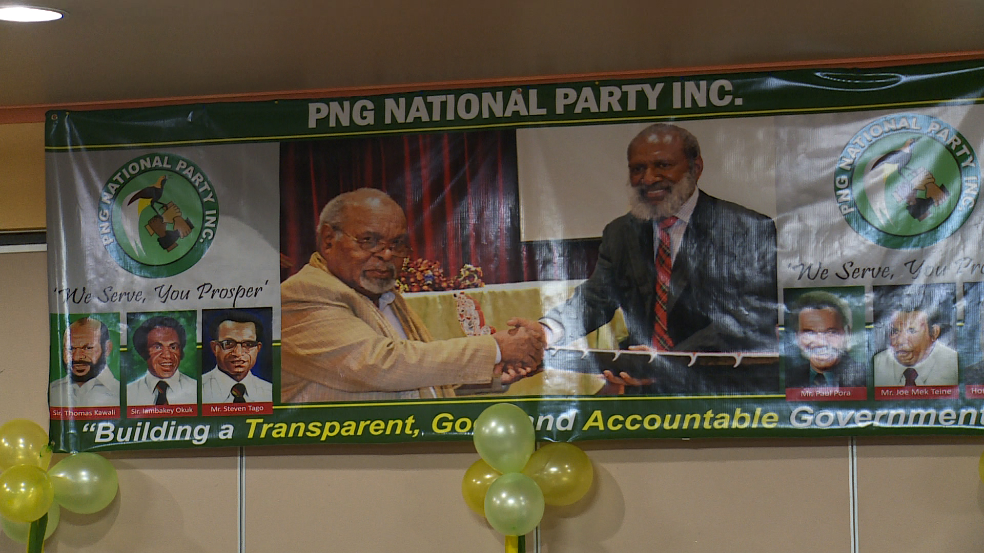 PNG National Party Convention Highlights Country\'s Economy.