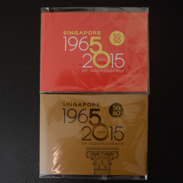 SG50 Collector\'s Sheet.