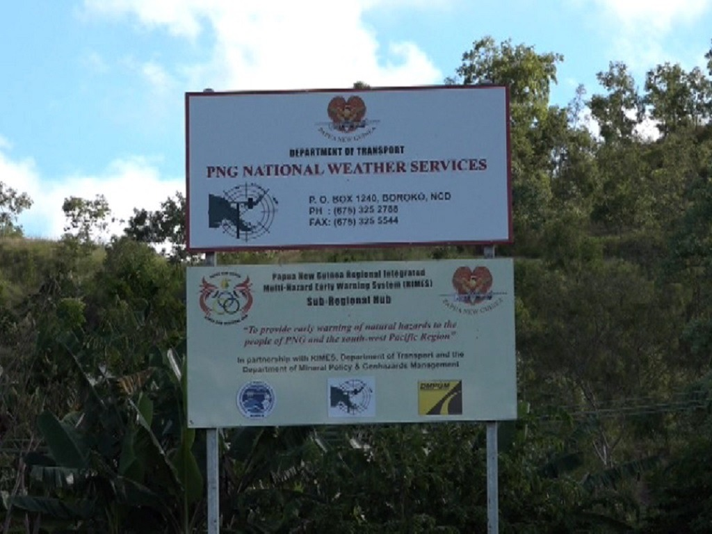 Strong winds warning from National Weather Service.