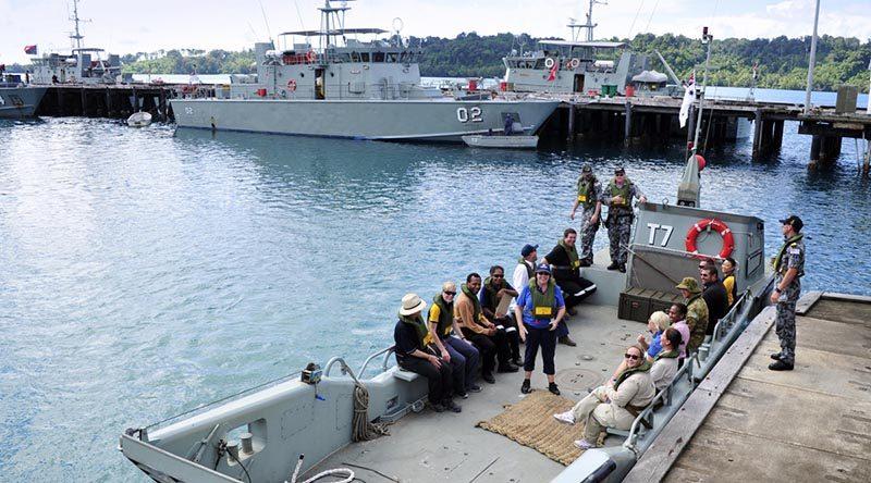 Australia to upgrade PNG navy base on Manus Island.