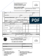 APPLICATION FORM FOR PHILIPPINES COAST GUARD ENLISTMENT.
