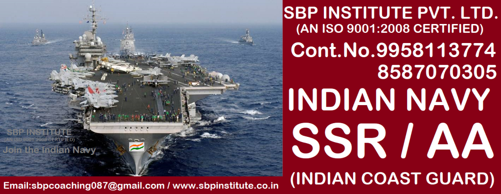 Indian Navy SSC Officer & Sailor Posts 2018.