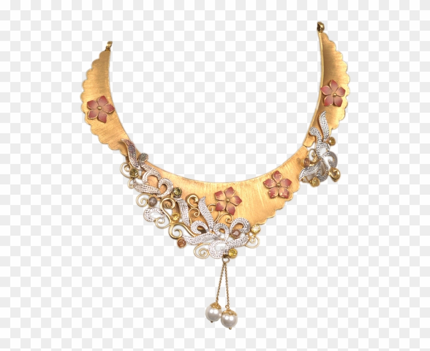Gold Necklace For Women Is Shop Online From Chungath.