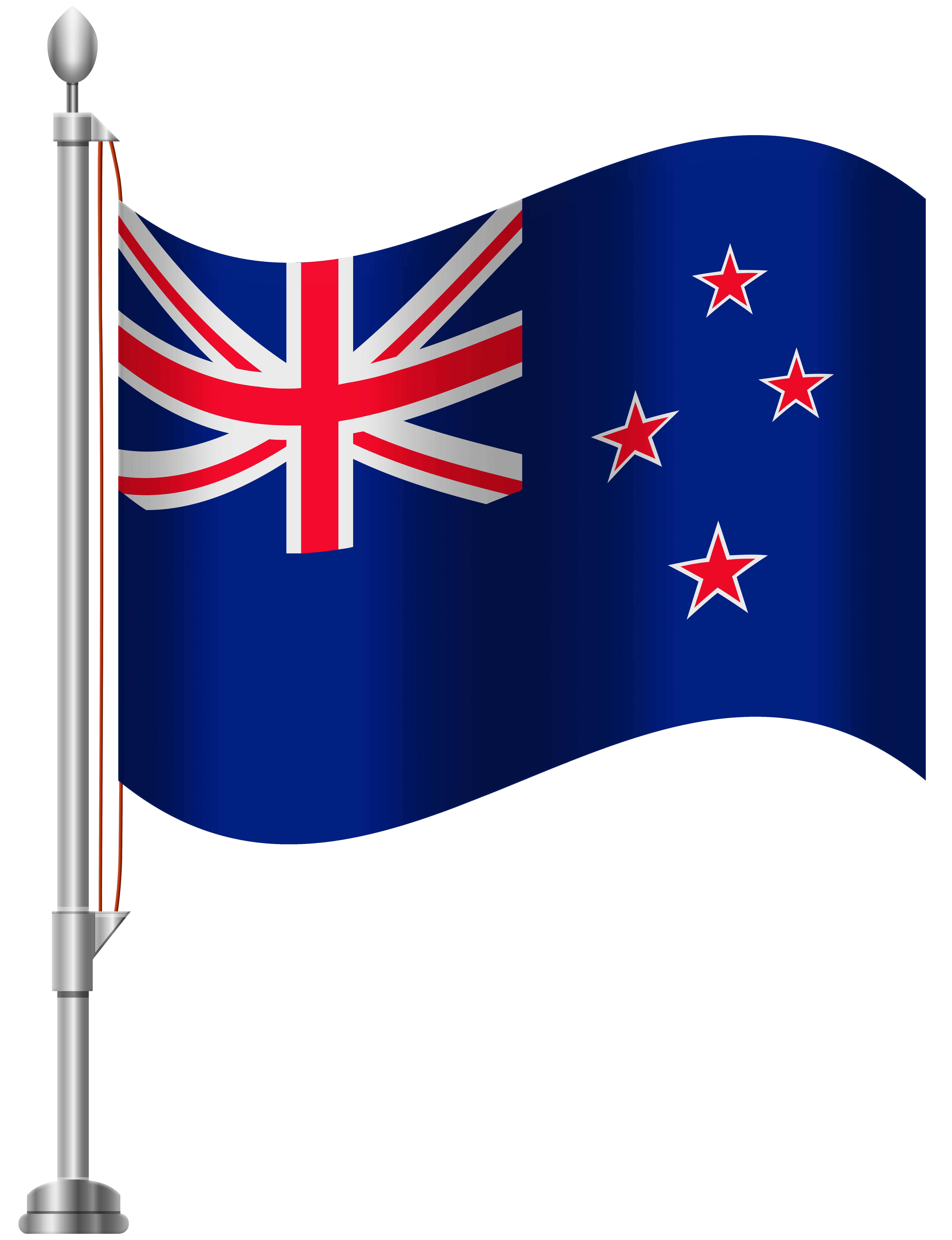 New Zealand Flag PNG Clip Art.