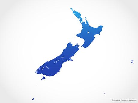 Vector Maps of New Zealand.
