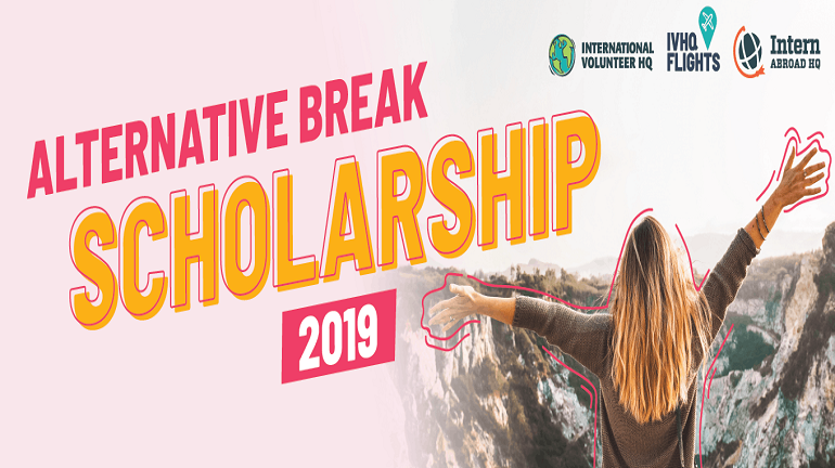 Apply for full funded Alternative break scholarship program.