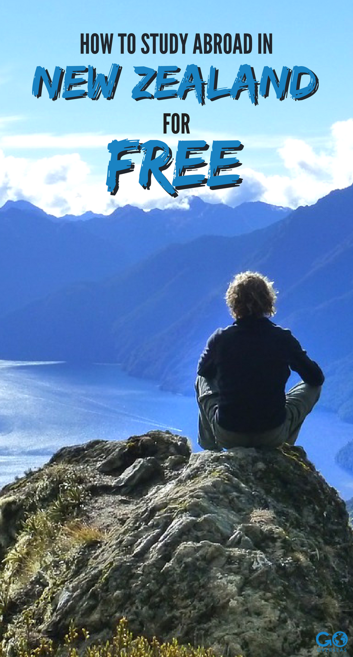 Want to study abroad in New Zealand for free? Through.