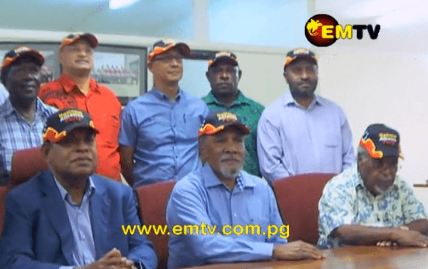 PNG Party officially announces merge with National Alliance.