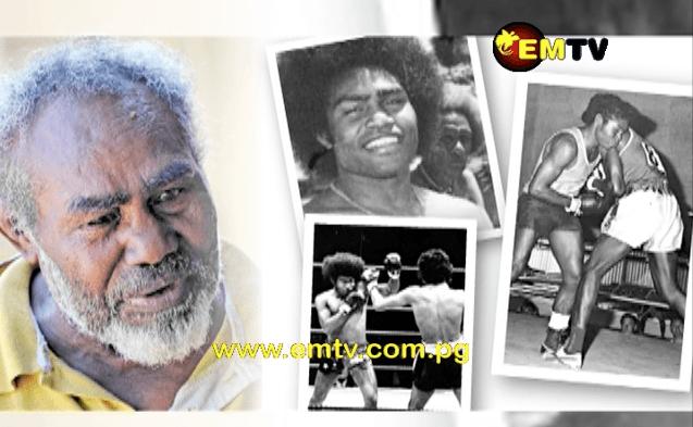 Boxing legend Martin Beni encourages PNG pro boxers.