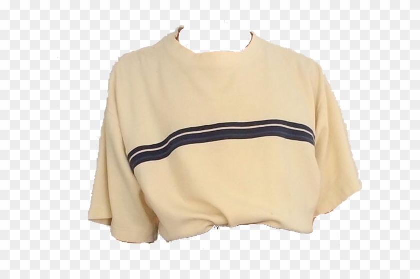 Cream Shirt / Polyvore.
