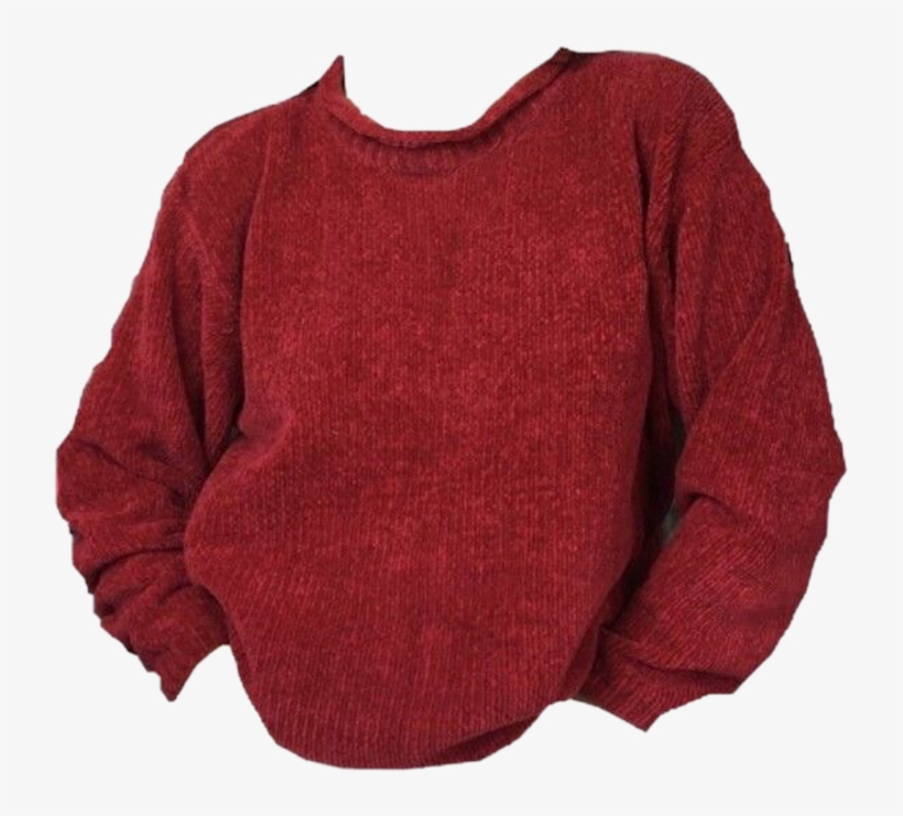 Sweater Red Fall Autumn Clothing Png Polyvore 80s 90s.