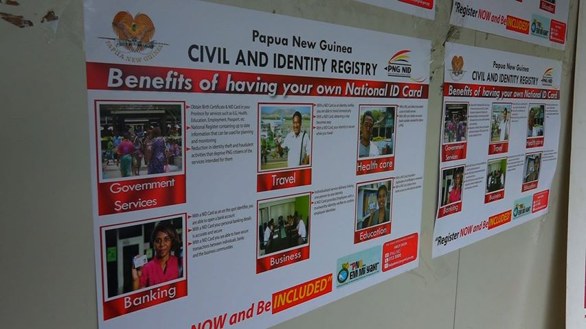 Richard Maru: PNG NID staff in Lae to Speed up Registry.
