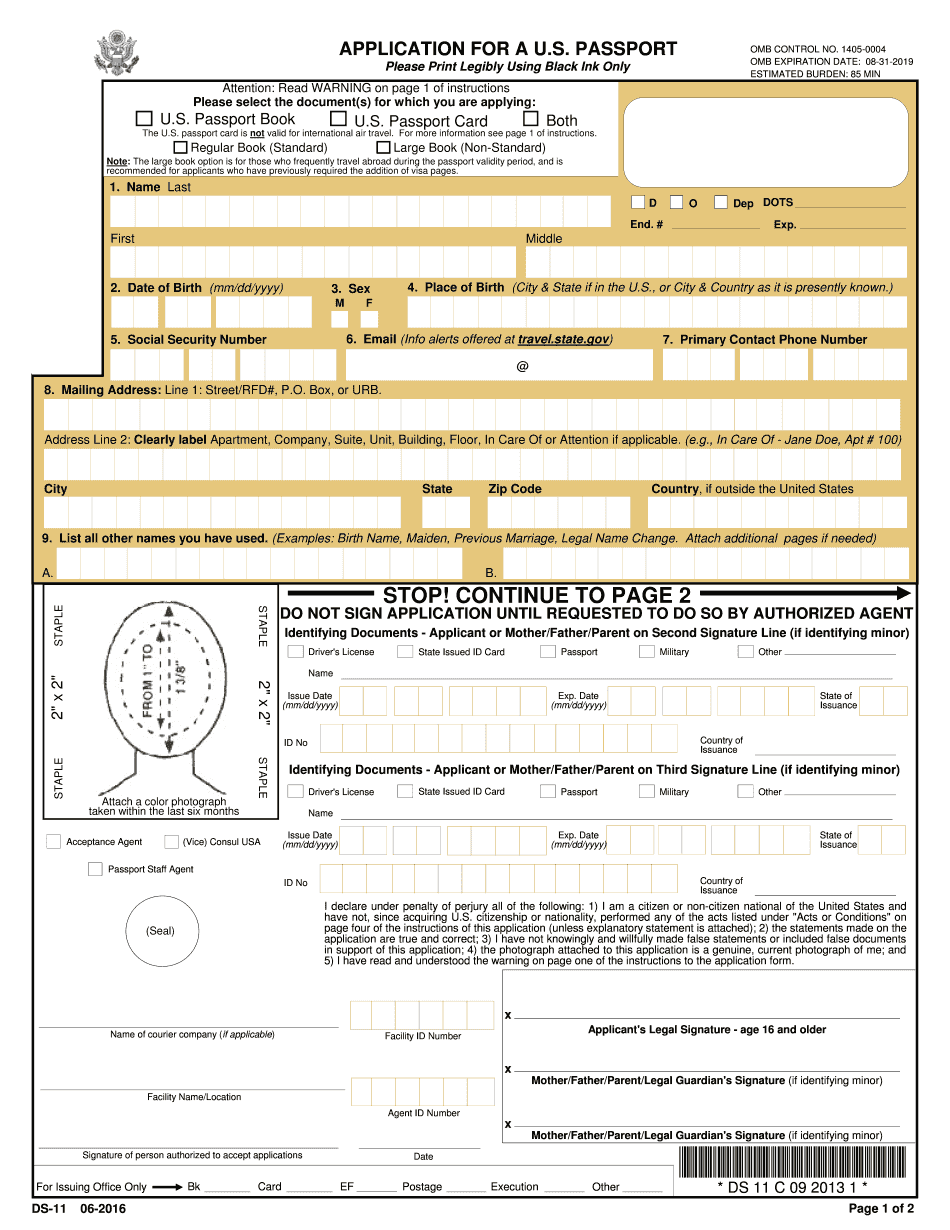 Png Passport Application Form 2018 Pdf Five Things To.