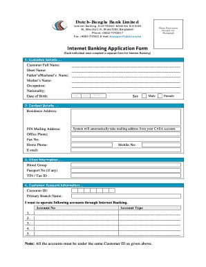 Dbbl Mobile Banking Online Registration.