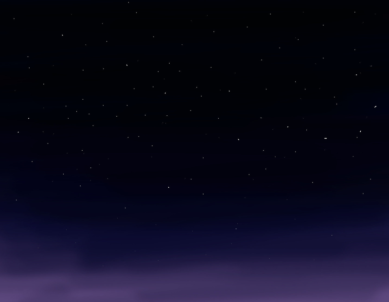 Download Free png Starry Night Sky Background b.