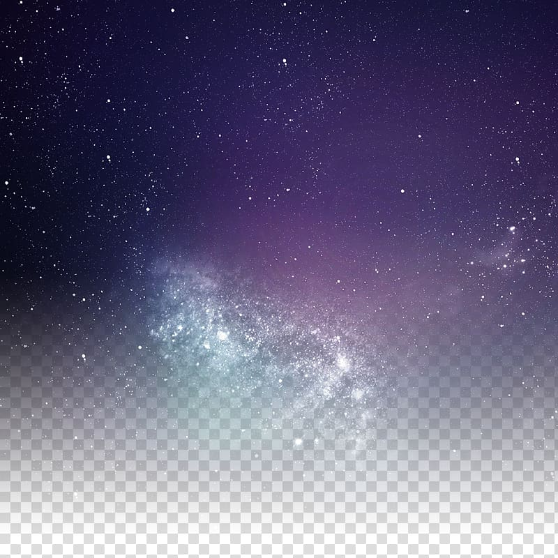 Icon, Brilliant stars in the night sky, low angle of stars.