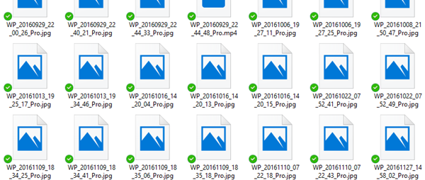 OneDrive thumbnails not showing on Windows 10.