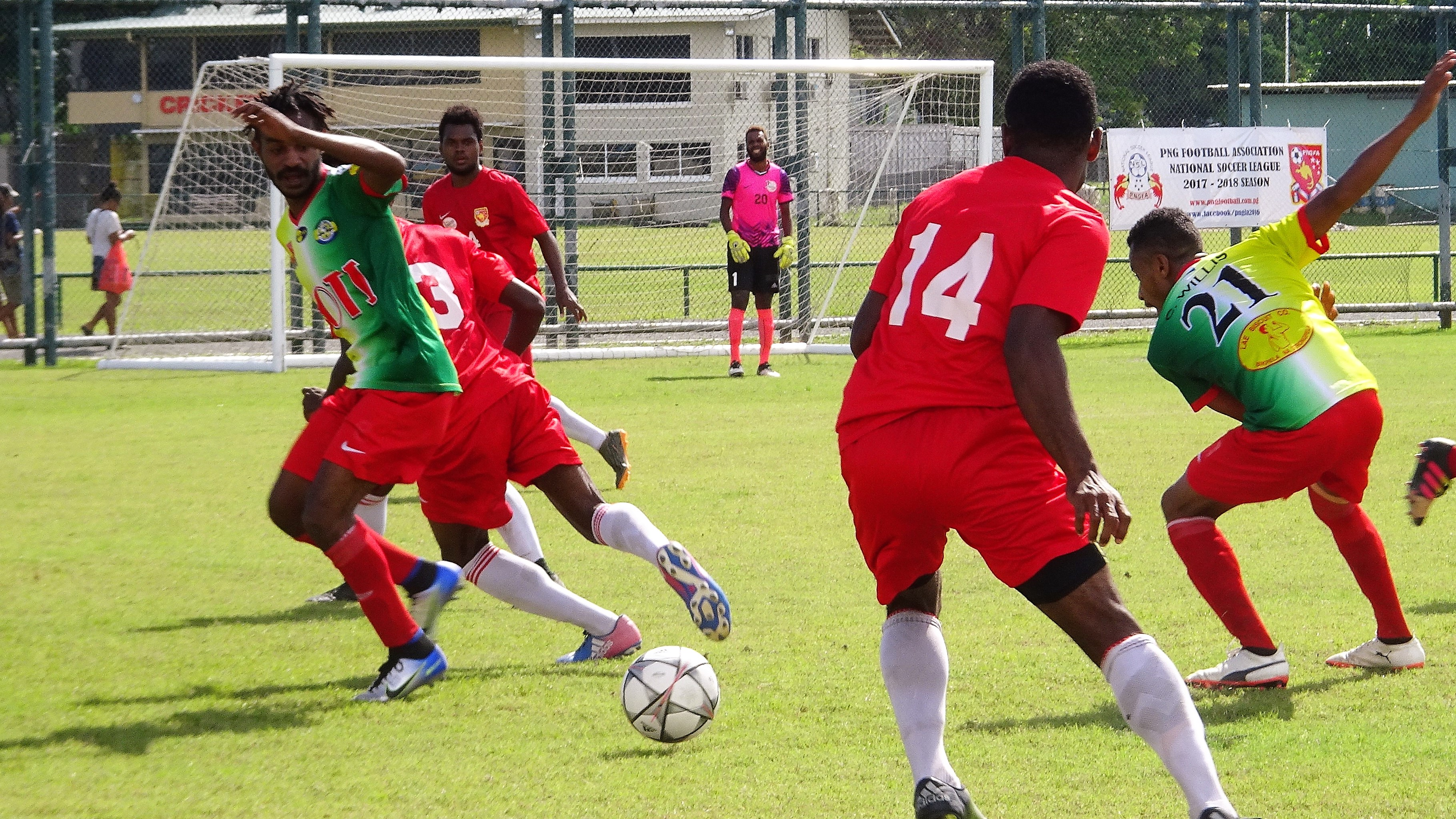 Strikers hold NSL Champions to a Draw.