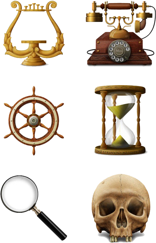 Download Vintage Objects Png Image Background.