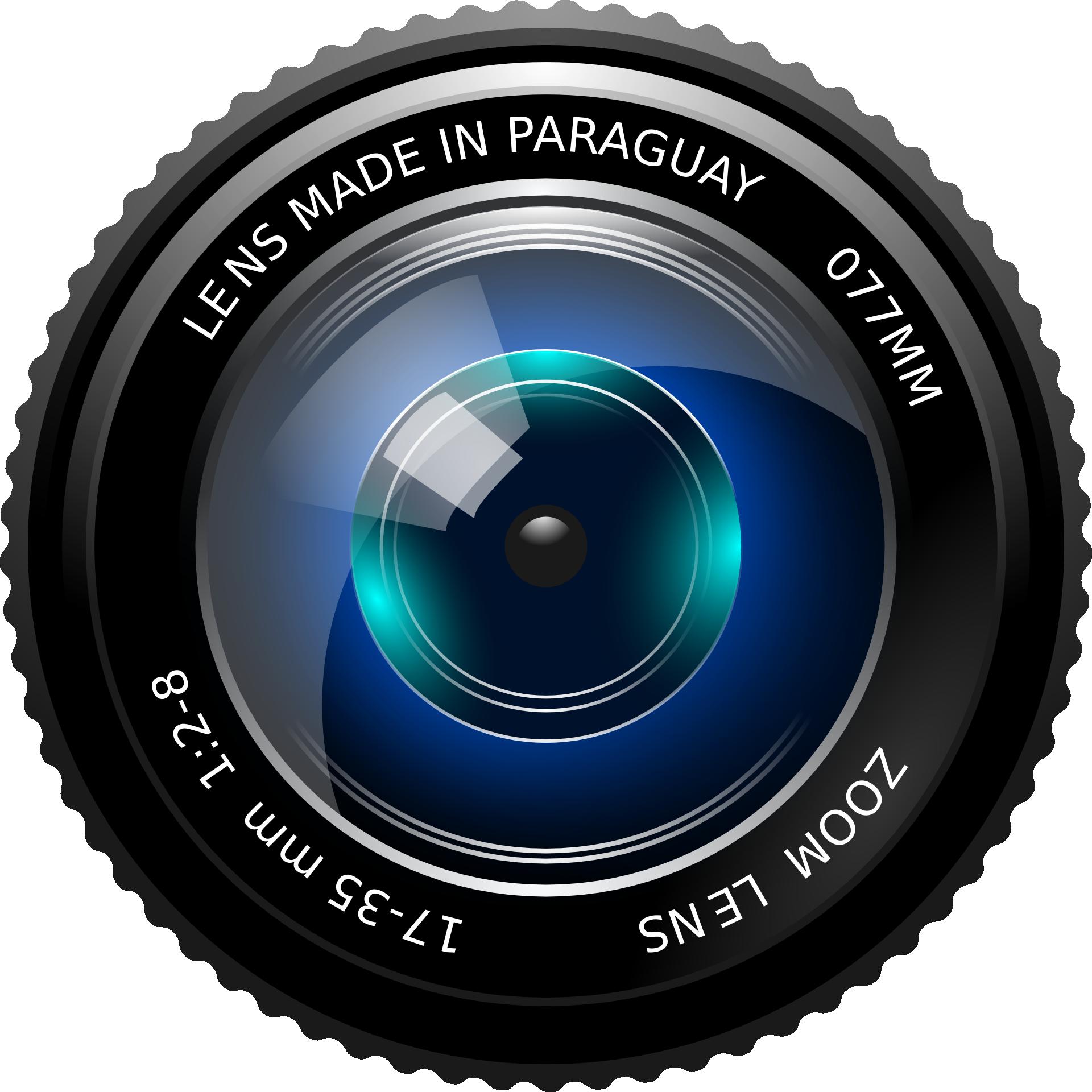 Download Camera Lens PNG Image.