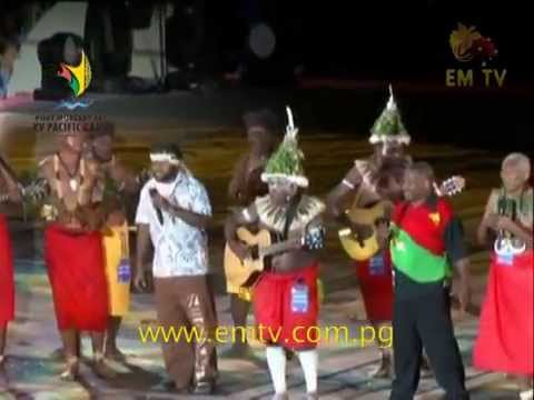 PNG oldies and Stringband music rock the SP Games stadium.
