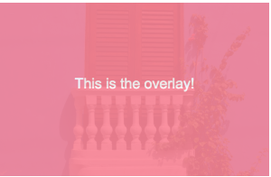 CSS Overlay: How to Create a Simple CSS Overlay.