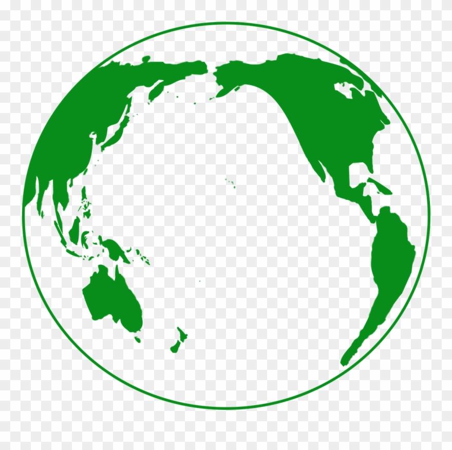 Travel, Earth, Green, Globe, Pacific Ocean.