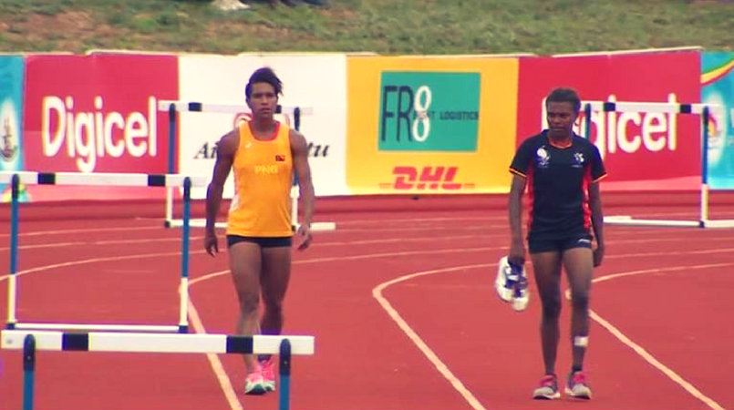 Mixed results for PNG track team.