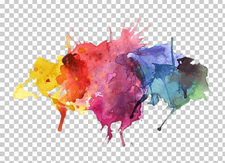 Water Colors Paint Splatter PNG, Clipart, Miscellaneous.