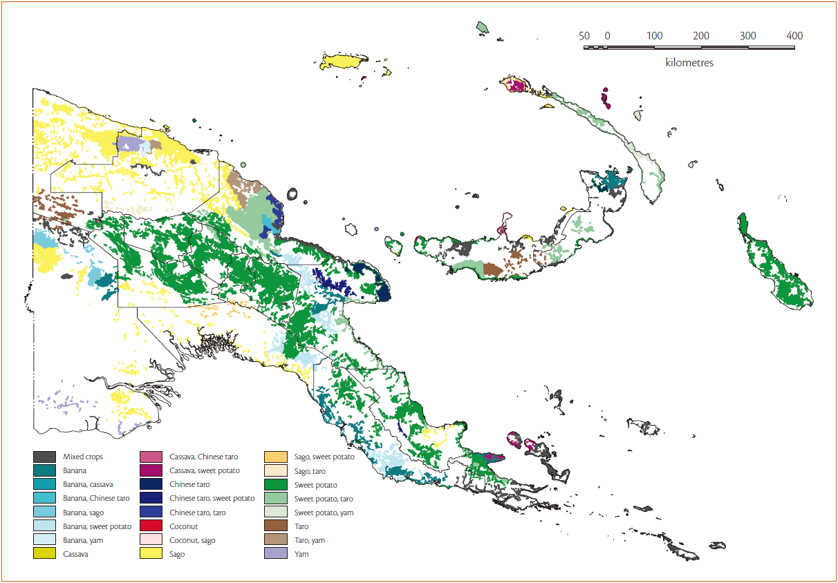 Common Staple Food Crops in Papua New Guinea.