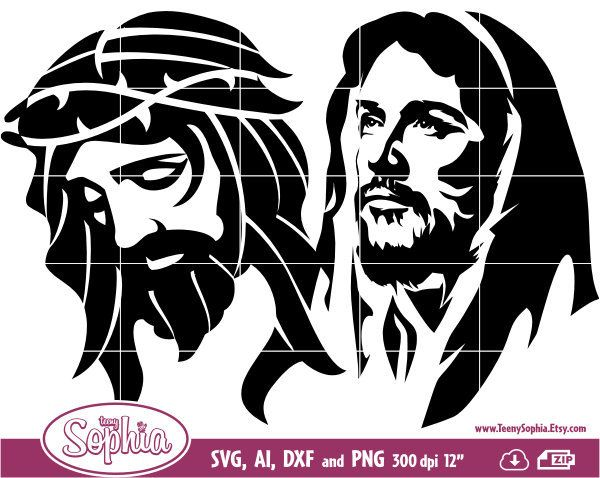 Christian Catholic 16 Cliparts format Svg Cutting File for.