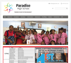 Png Paradise High School Competitors, Revenue and Employees.