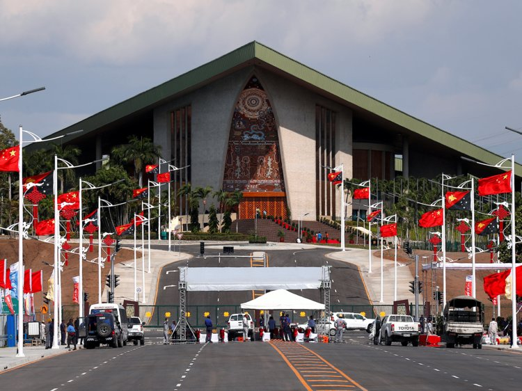 Papua New Guinea Parliament is locked down as police and.