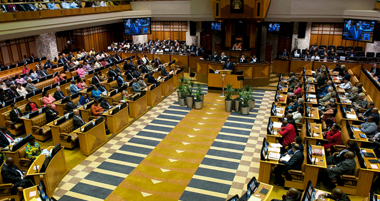 Parliament compiles rules to impeach a sitting president.