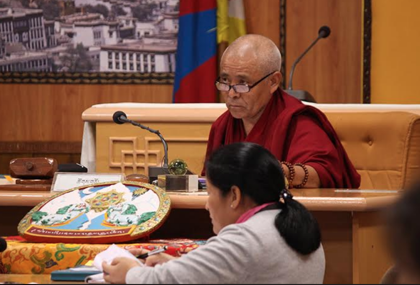 Third day of the sixth session of the 16th Tibetan.