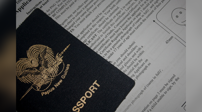 New stringent process for travel documents.