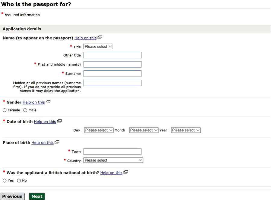 How to apply for a UK passport online.