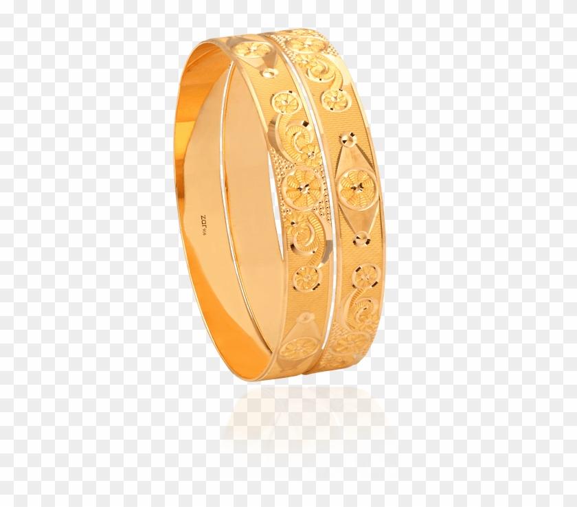 Traditional Gold Bangles, Hollow & Flat Bangles Design.