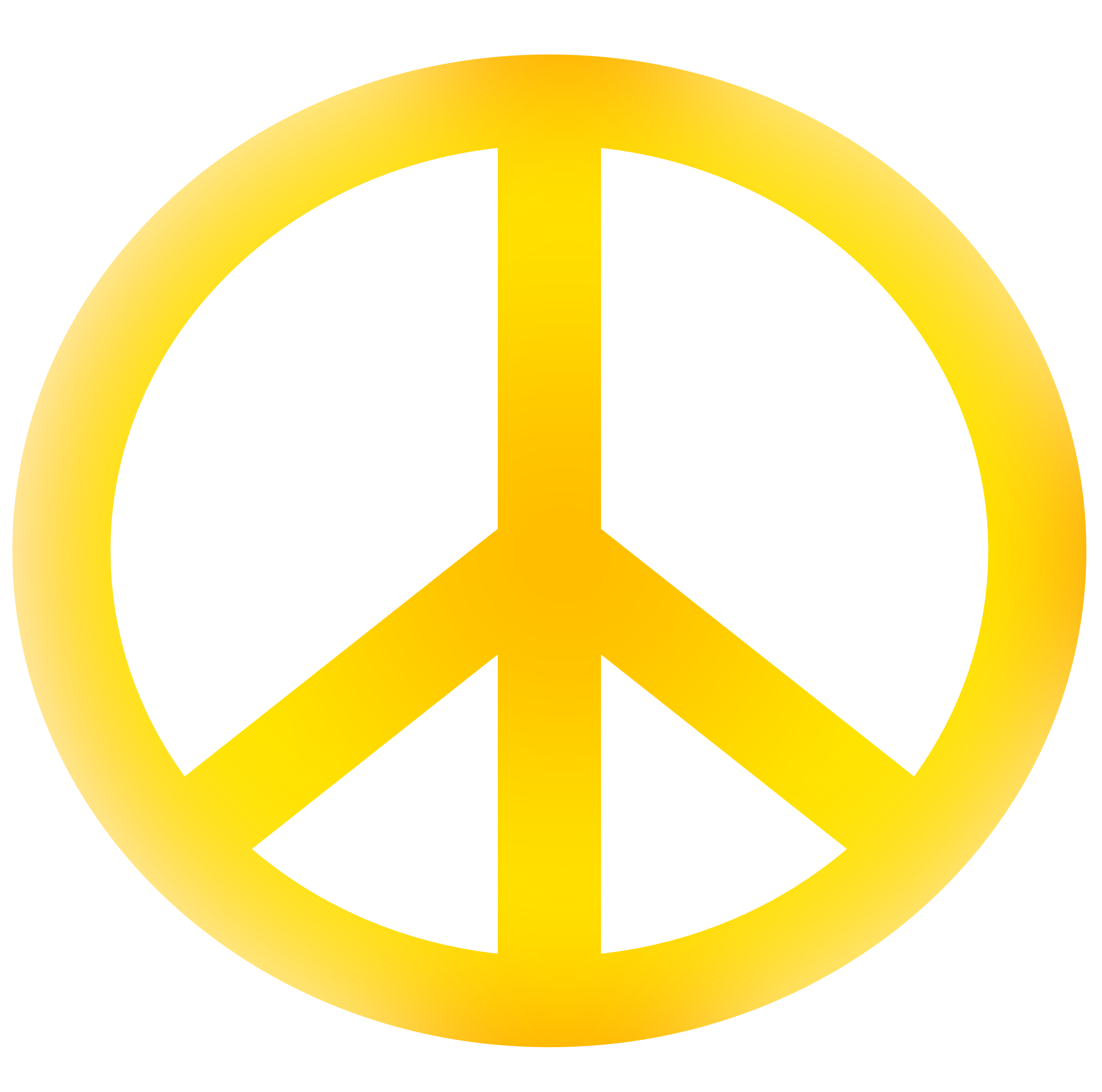 Peace Symbol PNG Transparent Images.