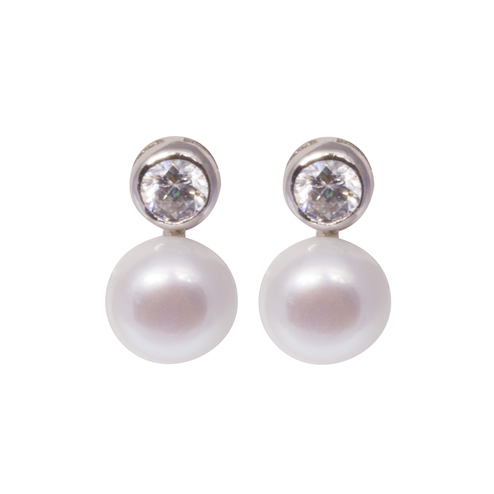 Freshwater Pearl Earrings 7.5.