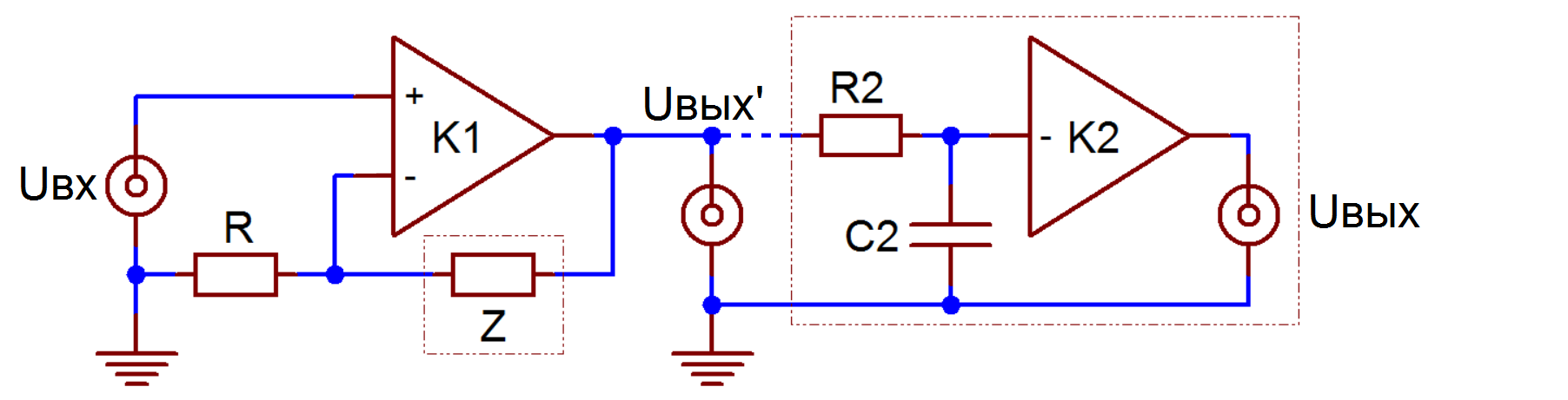 File:Phono stage topologies A1 active,series feedback.png.