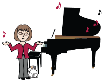 Piano lessons clip art clipart images gallery for free.